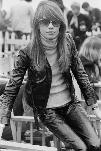 Leather Jacket「Francoise Hardy」:写真・画像(2)[壁紙.com]