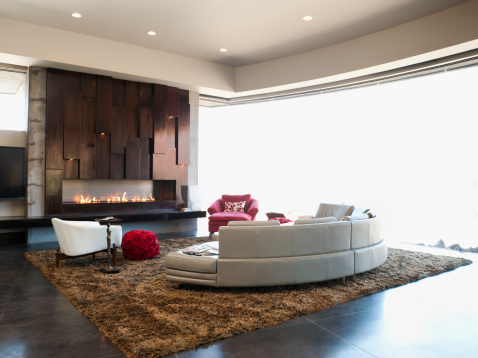 St「USA, Utah, St. George, Interior of modern living room」:スマホ壁紙(16)