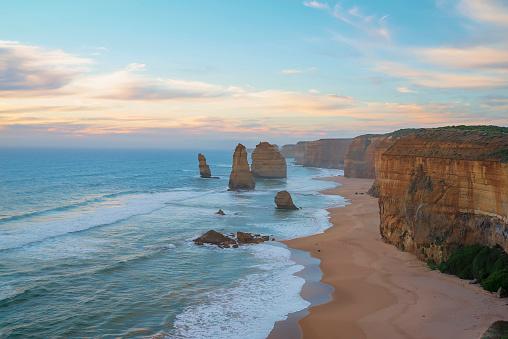 Limestone「Twelve apostles, Melbourne, Victoria, Australia」:スマホ壁紙(16)