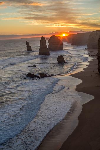 Wave「Twelve Apostles, Great Ocean road, Australia」:スマホ壁紙(15)
