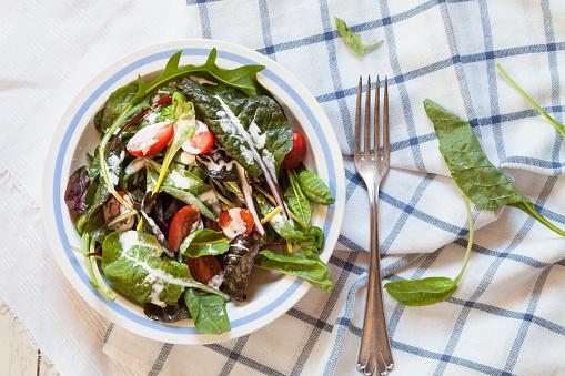 Arugula「Mixed green salad with yoghurt sauce」:スマホ壁紙(19)