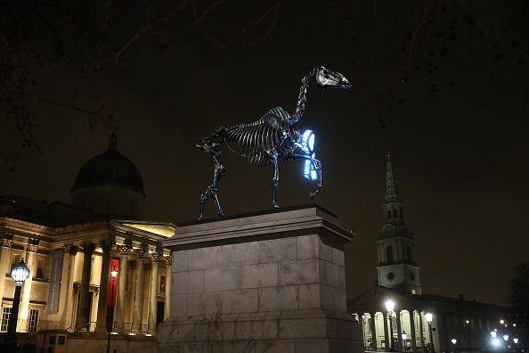 Electric Light「Trafalgar Square's Fourth Plinth Exhibit」:写真・画像(12)[壁紙.com]