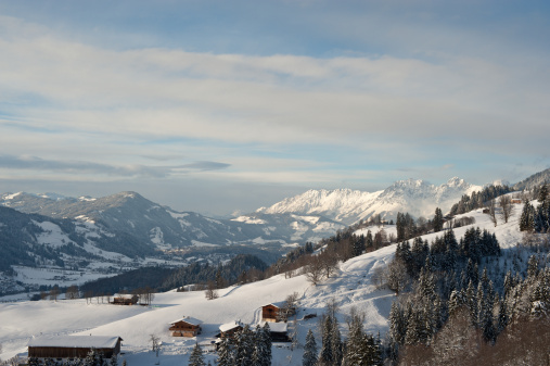 Kitzbühel「Wintertime Valley of Kitzbühel」:スマホ壁紙(18)