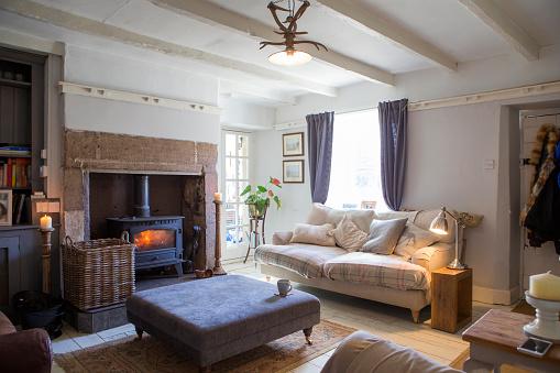 Fire - Natural Phenomenon「Home Living Room」:スマホ壁紙(14)