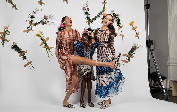 London Fashion Week「Tata Naka - Backstage - LFW February 2017」:写真・画像(17)[壁紙.com]
