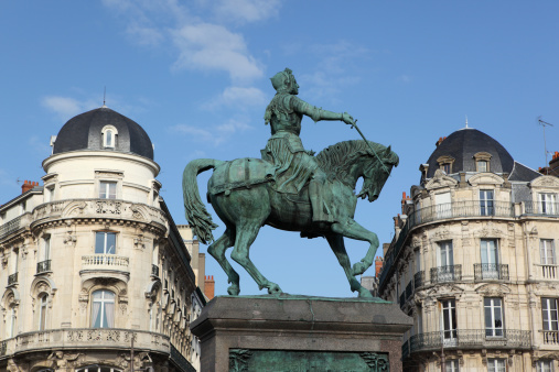 Cavalry「Statue of Jeanne d'Arc in Orléans, france」:スマホ壁紙(6)