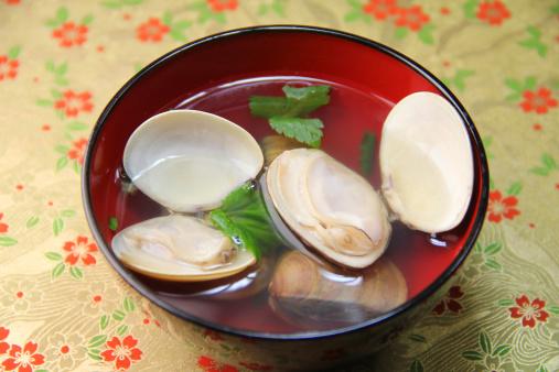 ひな祭り「Ushio-jiru (Japanese clam soup)」:スマホ壁紙(6)