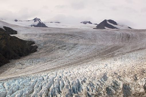 Exit Glacier「Harding Icefield in Kenai Fjords National Park」:スマホ壁紙(8)