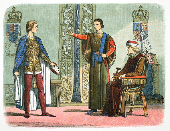 Somerset - England「Henry VI Of England And The Dukes Of York And Somerset 1450 (1864)」:写真・画像(19)[壁紙.com]