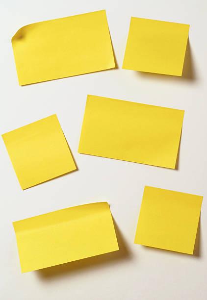 Yellow sticky notes:スマホ壁紙(壁紙.com)
