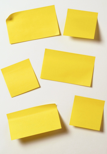 Adhesive Note「Yellow sticky notes」:スマホ壁紙(1)