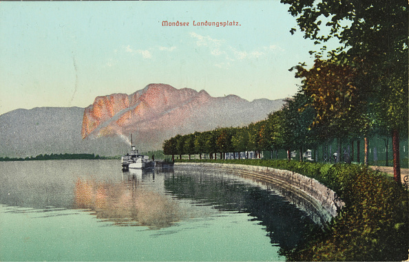 Passenger Craft「Landing Place In Mondsee With Steamboat」:写真・画像(15)[壁紙.com]