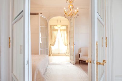 Gold Colored「Luxury Bedroom Suite in Paris」:スマホ壁紙(3)