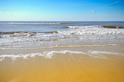 Netherlands「Waves on the beach」:スマホ壁紙(5)