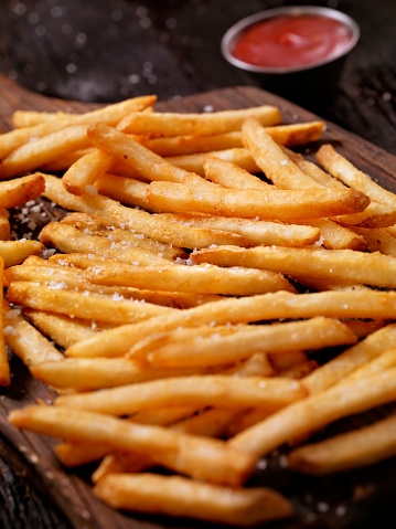 Deep Fried「Sea Salt French Fries with Ketchup」:スマホ壁紙(12)