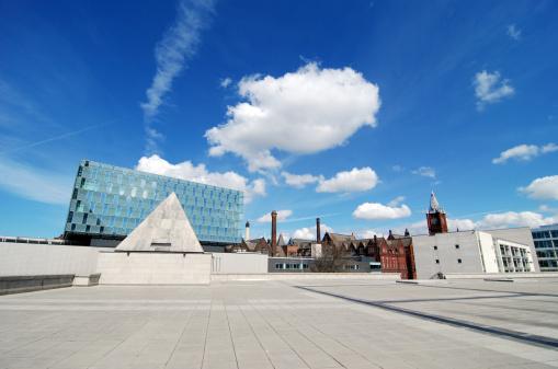 Liverpool - England「University of Liverpool wide angle buildings」:スマホ壁紙(18)