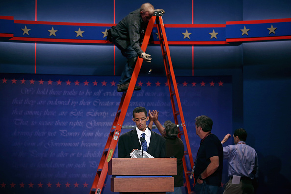 Human Role「Denver Prepares For First Presidential Debate」:写真・画像(12)[壁紙.com]
