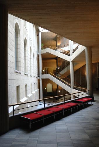 Brick Wall「University of Zurich Interior」:スマホ壁紙(16)