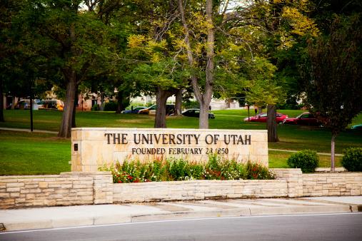Pennsylvania「University Signage, Salt Lake City, Utah, USA」:スマホ壁紙(14)