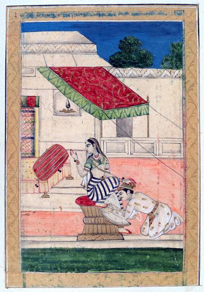 Ornamental Garden「Ramkali Ragini, Ragamala Album, School of Rajasthan, 19th century.」:写真・画像(17)[壁紙.com]