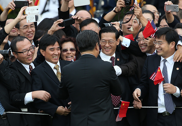 Politics and Government「President Obama Hosts Chinese President Xi Jinping For State Visit」:写真・画像(10)[壁紙.com]