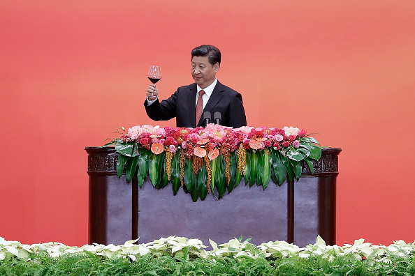 70th Anniversary「President Xi Hosts A Reception To Commemorate End Of World War II In Asia」:写真・画像(1)[壁紙.com]