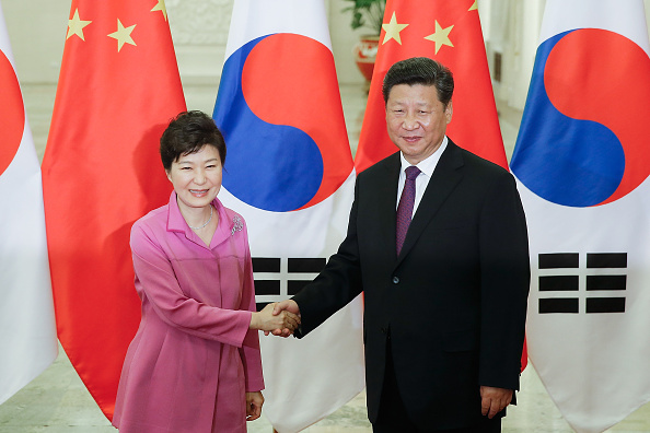 Diplomacy「South Korean President Park Geun-hye Visits China」:写真・画像(8)[壁紙.com]