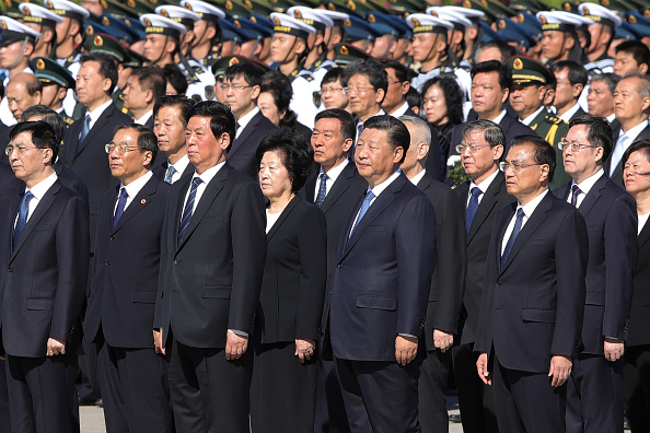 Holiday - Event「Chinese Leaders Lay Floral Baskets To The Monument To The People's Heroes」:写真・画像(12)[壁紙.com]