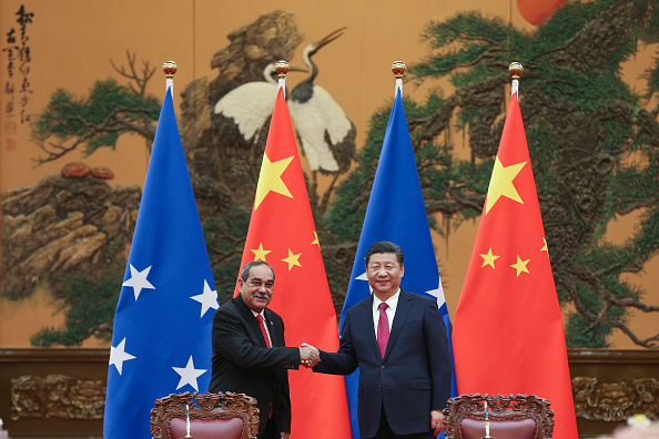 Pacific Islands「President Of The Federated States Of Micronesia Peter Christian Visits China」:写真・画像(12)[壁紙.com]