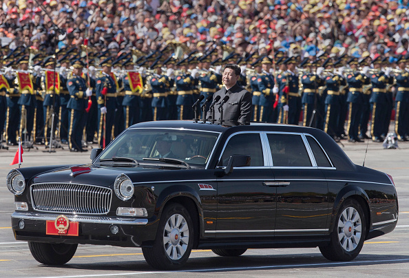 Motor Vehicle「China Holds Military Parade To Commemorate End Of World War II In Asia」:写真・画像(13)[壁紙.com]