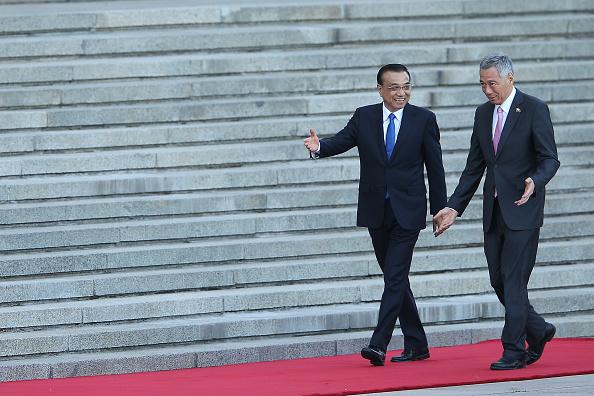 式典「Singapore Prime Minister Lee Hsien Loong Visits China」:写真・画像(6)[壁紙.com]