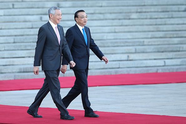 式典「Singapore Prime Minister Lee Hsien Loong Visits China」:写真・画像(3)[壁紙.com]