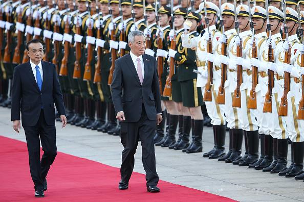 式典「Singapore Prime Minister Lee Hsien Loong Visits China」:写真・画像(4)[壁紙.com]