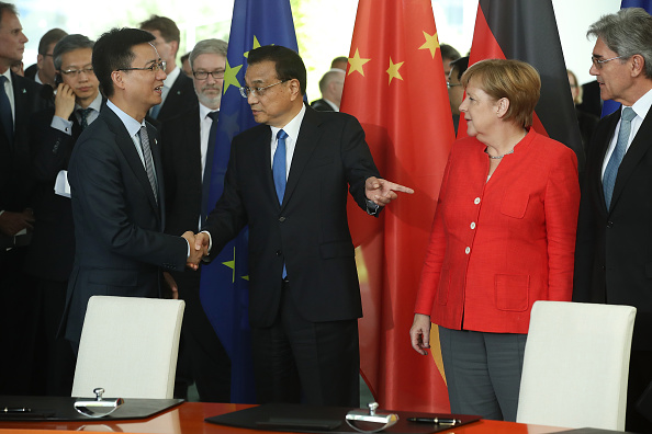 Cloud Computing「Germany And China Hold Government Consultations」:写真・画像(5)[壁紙.com]