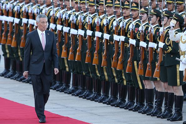 式典「Singapore Prime Minister Lee Hsien Loong Visits China」:写真・画像(5)[壁紙.com]