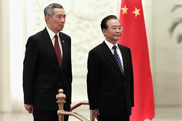 Lintao Zhang「Singaporean Prime Minister Lee Hsien Long Visits China」:写真・画像(5)[壁紙.com]