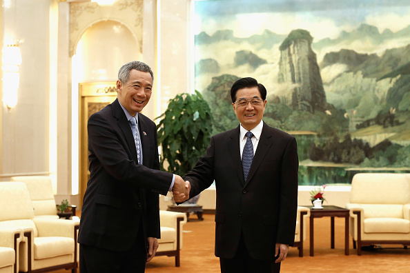 Lintao Zhang「Singaporean Prime Minister Lee Hsien Long Visits China」:写真・画像(3)[壁紙.com]