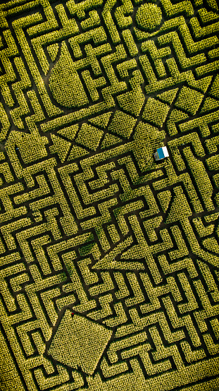Pennsylvania「The huge Halloween's Corn Maze in Pennsylvania, Poconos Region」:スマホ壁紙(4)