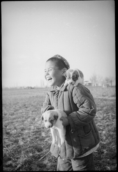 Uzbekistan「Boy With Puppies」:写真・画像(14)[壁紙.com]