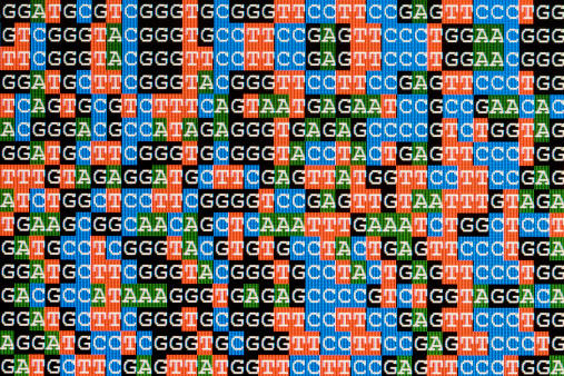 Continuity「DNA sequences unaligned on LCD computer screen」:スマホ壁紙(2)