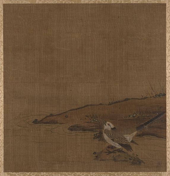Circa 14th Century「Bird Near Water (From Album Of Studies By Modern Artists」:写真・画像(19)[壁紙.com]