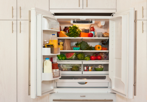 Temptation「view of inside of refrigerator with healthy food」:スマホ壁紙(14)