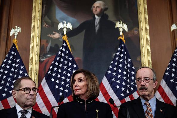 Drew Angerer「U.S. House Of Representatives Votes On Impeachment Of President Donald Trump」:写真・画像(12)[壁紙.com]