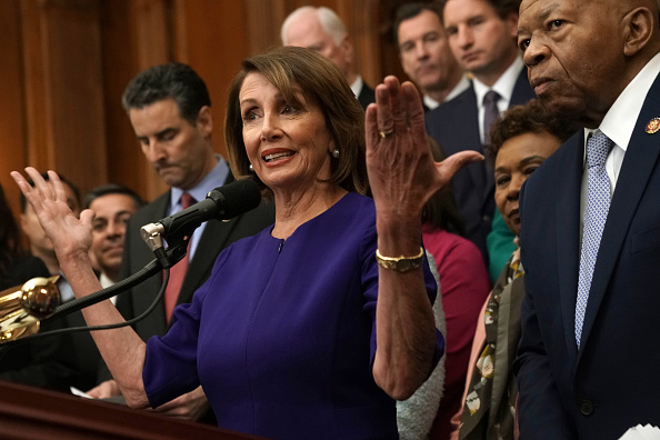 """House Of Representatives「House Speaker Nancy Pelosi And House Dems Introduce Democracy Reform Agenda, The """"For The People Act""""」:写真・画像(14)[壁紙.com]"""