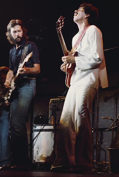 ミュージシャン カルロス・サンタナ「Clapton And Santana」:写真・画像(15)[壁紙.com]