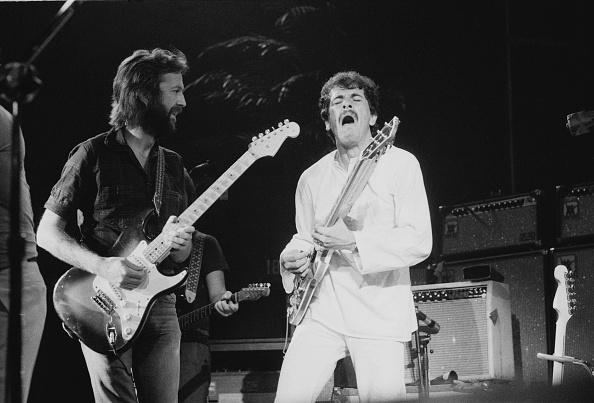 1975年「Clapton's US Tour」:写真・画像(12)[壁紙.com]