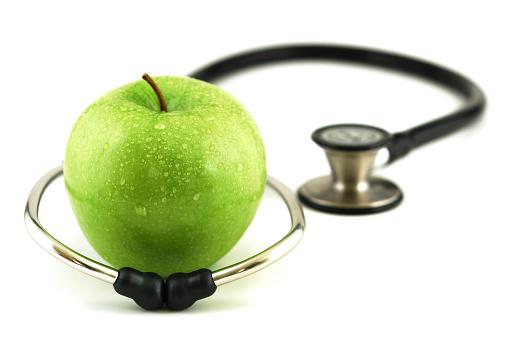 リンゴ「健康的な食事」:スマホ壁紙(8)