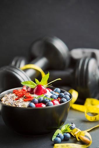 Vegetarian Food「Healthy Eating – Porridge」:スマホ壁紙(6)