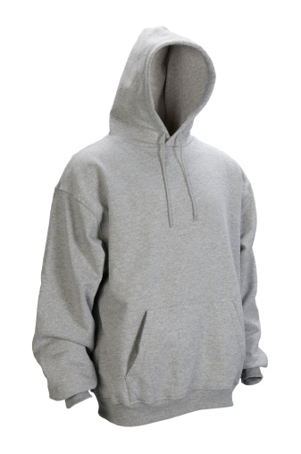 Sports Clothing「Gray hooded, blank sweatshirt front-isolated on white w/clipping path」:スマホ壁紙(5)