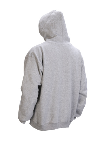 Sweatshirt「Gray hooded blank sweatshirt back-isolated on white w/clipping path」:スマホ壁紙(10)